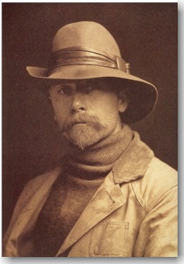 Edward S. Curtis as a young man